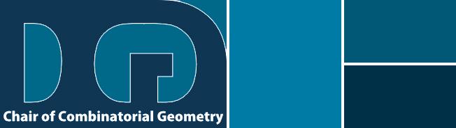 DCG – Chair of Combinatorial Geometry
